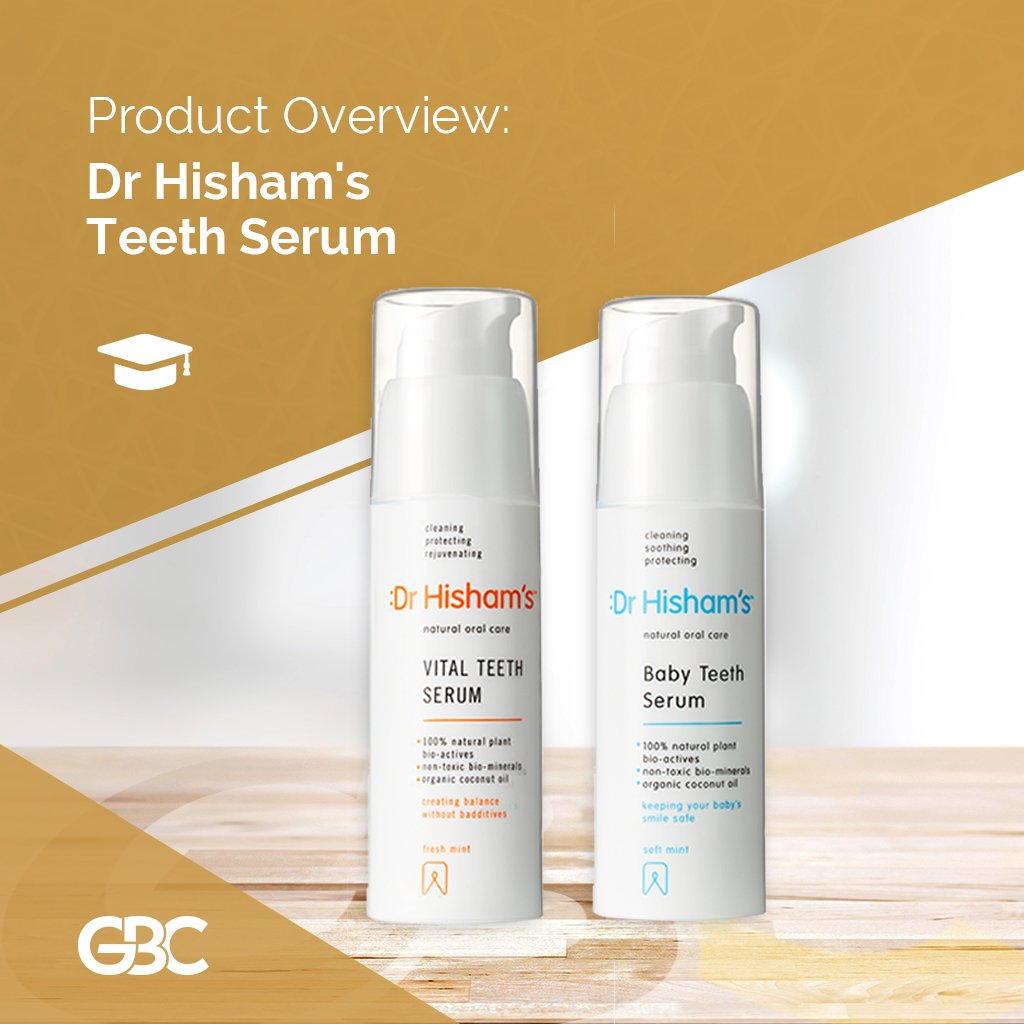 Dr. Hisham's Teeth Serum range